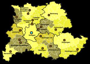 Feuerwerk Stuttgart und Umgebung: Anfahrt kostenlos